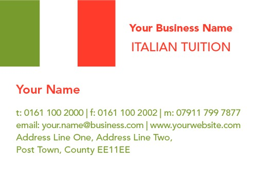 Language business card by ashley moore sane design language business card colourmoves