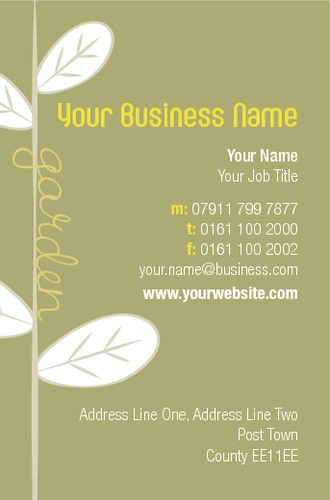 Online print templates printing garden maintenance business card reheart Gallery