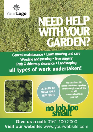 gardening a5 leaflets
