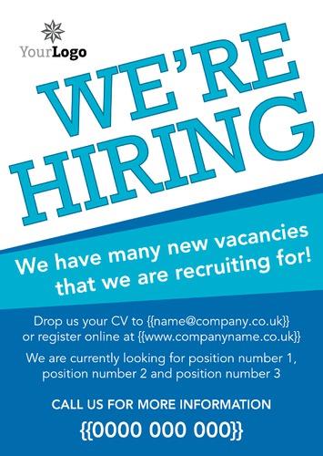 recruitment flyer template free