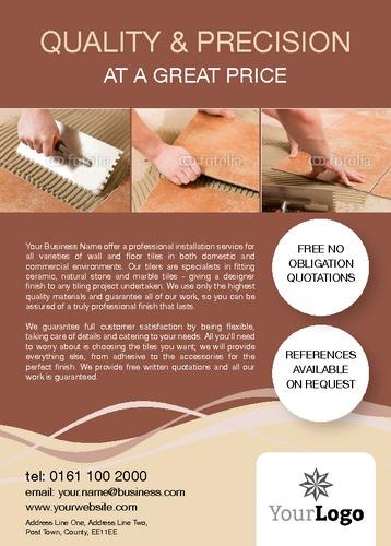Home Maintenance A6 Leaflets by Paul Wongsam