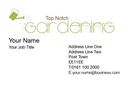 Gardening business card by talvinder bhogal perfect ideas media gardening business card reheart Choice Image