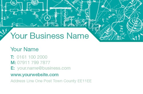 Technology Business Card  by Ro Do