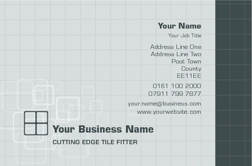 Tiling business card by peter stewart sane design tiling business card reheart Choice Image