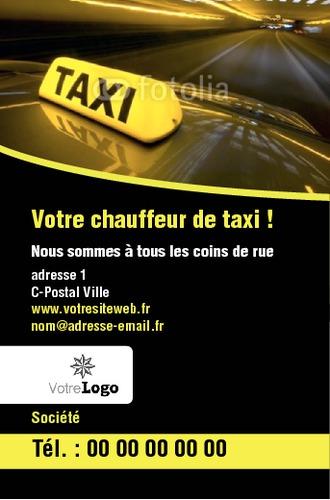 Taxi Carte De Visite