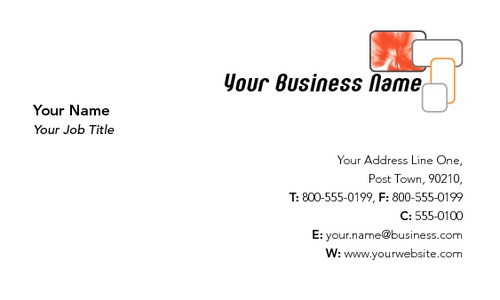 "Salesperson 2"" x 3.5"" Business Cards by SC Creative"