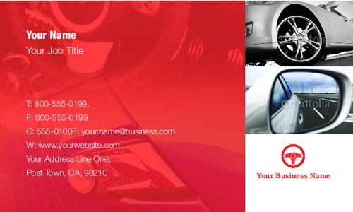 "Learning To Drive 2"" x 3.5"" Business Cards by SC Creative"