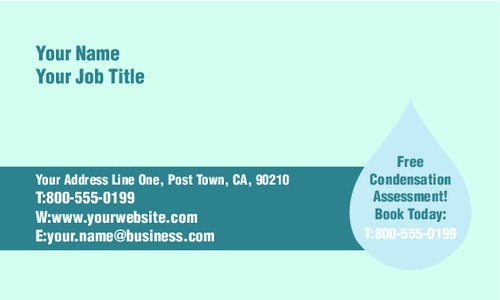 """Home Maintenance 2"""" x 3.5"""" Business Cards by Rebecca Doherty"""