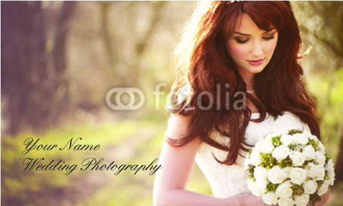 """Photographer 2"""" x 3.5"""" Business Cards by C V"""