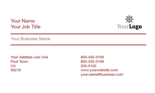 """I.T. 2"""" x 3.5"""" Business Cards by Nickola O'Connor"""