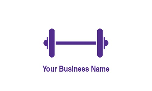 "Gym 2"" x 3.5"" Business Cards by Ro Do"