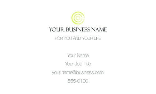 "Finance 2"" x 3.5"" Business Cards by Laura Marples"