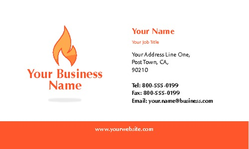 "Gas Fitters 2"" x 3.5"" Business Cards by Paul Wongsam"