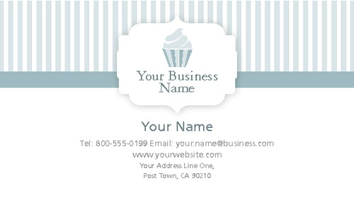 "Bakery 2"" x 3.5"" Business Cards by Nick Wongsam"