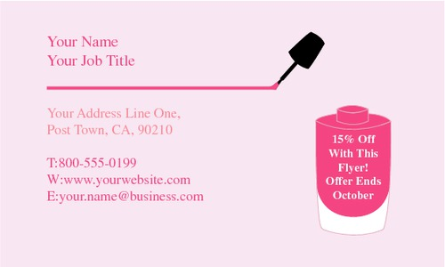 "Salon 2"" x 3.5"" Business Cards by Ro Do"