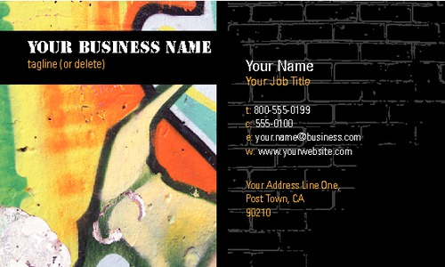 "Artists 2"" x 3.5"" Business Cards by Brightstar Creative Ltd"