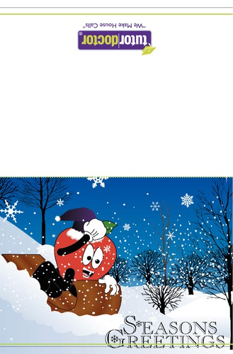 "5.5"" x 8.5"" Christmas Cards by TemplateCloud.com"