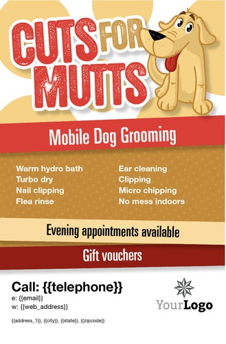 "Pet Care 5.5"" x 8.5"" Flyers by Paul Wongsam"