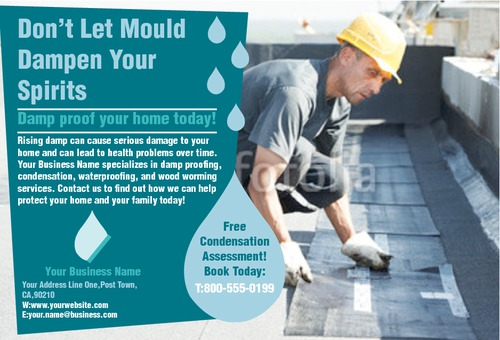 """Home Maintenance 4"""" x 6"""" Flyers by Rebecca Doherty"""