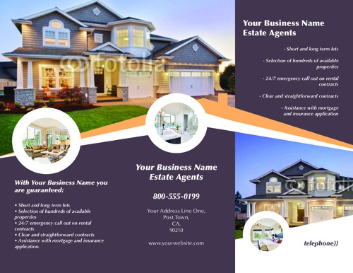 """Estate Agents 8.5"""" x 11"""" Brochures by Rebecca Doherty"""