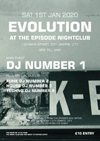 Nightclub A3 Flyers by Templatecloud