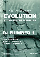 Nightclub A4 Flyers - Front