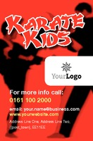 Karate Business Card  by Templatecloud