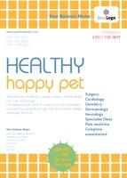 Pet Care A6 Leaflets by Templatecloud