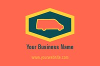 Removals Business Card  by Templatecloud