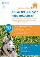 Dog Care A6 Flyers by Templatecloud