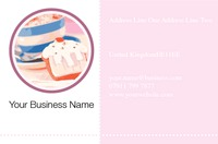 Cafe Business Card  by Templatecloud