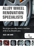 Automotive A5 Leaflets by Templatecloud
