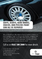 Automotive A6 Leaflets by Templatecloud
