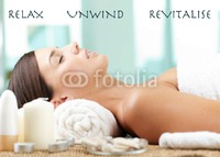 Beauty Treatments A6 Leaflets by Templatecloud