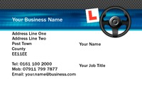 Driving Instructors Business Card  by Templatecloud