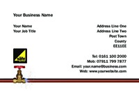 Plumbers Business Card  by Templatecloud