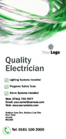 Electrician 1/3rd A4 Leaflets by Templatecloud