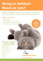 Pet Care A5 Flyers by Templatecloud