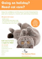 Pet Care A4 Leaflets by Templatecloud