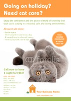 Pet Care A5 Leaflets by Templatecloud