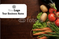 Grocery Store Business Card  by Templatecloud