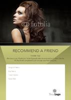 Salon A5 Leaflets by Templatecloud