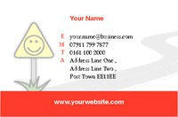 Instructor Business Card  by Templatecloud