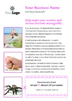 Hypnotherapy A5 Leaflets by Templatecloud