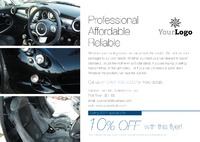 Car Dealers A5 Flyers by Templatecloud