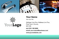 Home Improvement Business Card  by Templatecloud