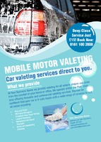 Car Wash A6 Leaflets by Templatecloud