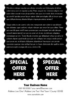 Animals A6 Leaflets by Templatecloud