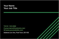 Music Business Card  by Templatecloud
