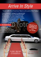 Car Hire A5 Leaflets by Templatecloud